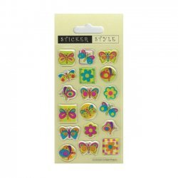Scrapbooking - Card Making 3D Stickers BUTTERFLIES