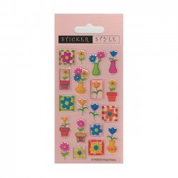 Scrapbooking - Card Making 3D Stickers PRETTY PETALS