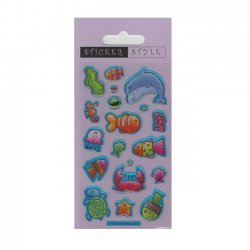Scrapbooking - Card Making 3D Stickers SEA CREATURES