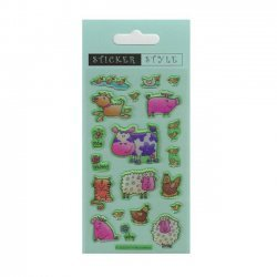 Scrapbooking - Card Making 3D Stickers FARM ANIMALS