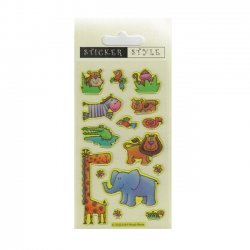 Scrapbooking - Card Making 3D Stickers JUNGLE FUN