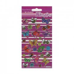 Scrapbooking - Card Making 3D Stickers COLORFUL BUTTERFLIES