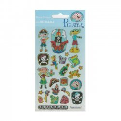 Scrapbooking - Card Making 3D Stickers PIRATES