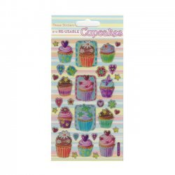Scrapbooking - Card Making 3D Stickers CUPCAKES