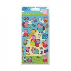 3D Stickers PEPPA PIG