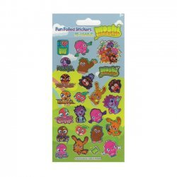 3D Stickers MOSHI MONSTERS