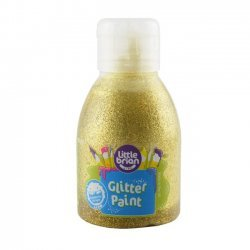 Little Brian Glitterverf 2+ Goud 150 ml.