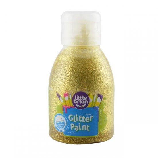 Little Brian Glitterverf 2+ Goud 150 ml.