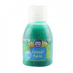 Little Brian Glitterverf 2+ Groen 150 ml.