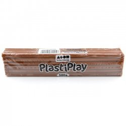 Boetseerklei PlastiPlay 500 gr. BRUIN