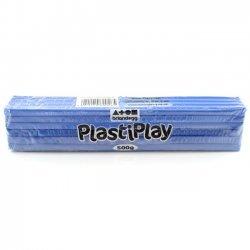 Boetseerklei PlastiPlay 500 gr. COBALT BLAUW
