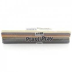 Boetseerklei PlastiPlay 500 gr. HUID KLEUREN