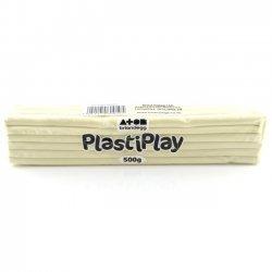 Boetseerklei PlastiPlay 500 gr. WIT