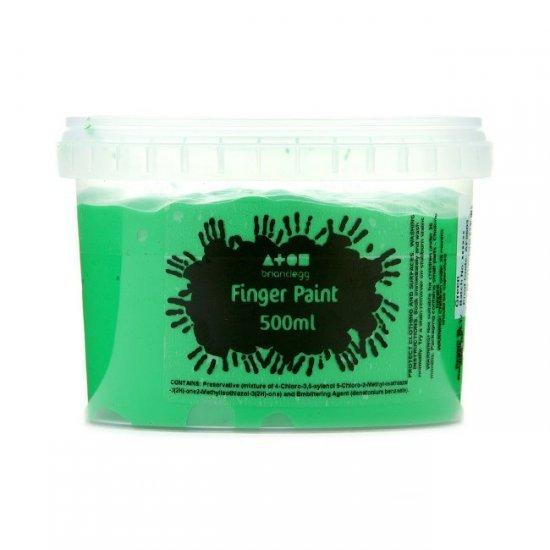 Vingerverf 500 ml. Groen