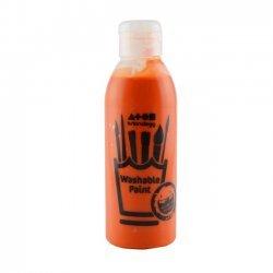 Uitwasbare Verf 300 ml. Oranje