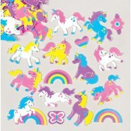 Foam Stickers EENHOORN UNICORN  120-dlg.