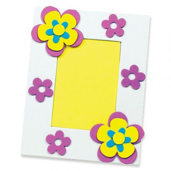 Foam Stickers BLOEMEN 200-dlg.