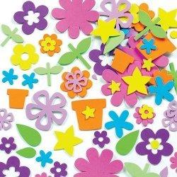 Foam Stickers BLOEMEN 200-dlg.