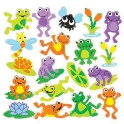 Foam Stickers FUNKY KIKKERS 120-dlg.