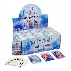 24 x Speelkaarten Mini  ICE PRINCESS