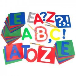 Sjabloonset Alfabet A - Z