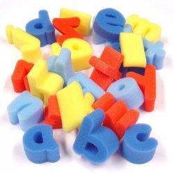 Verf Sponsjes - Stempels Letters a tot z  26-delig
