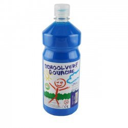 Schoolverf  1 Liter  Licht Blauw